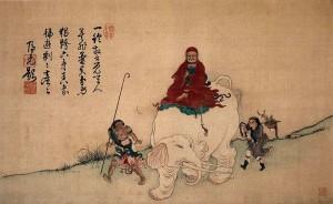 Bodhidharma-and-elephant